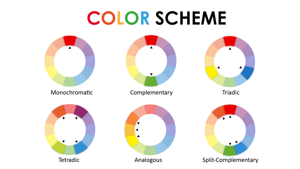 color scheme , color Palette