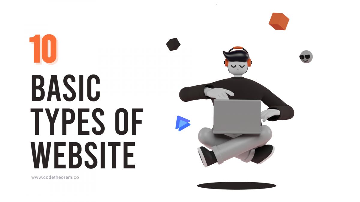 10 Basic type of Website