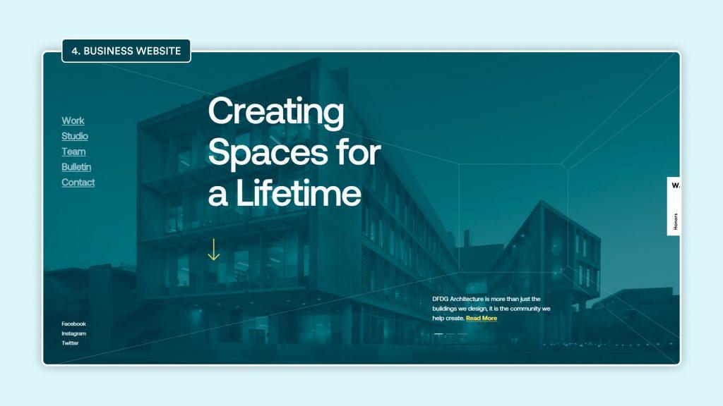 Type 4: Business Website